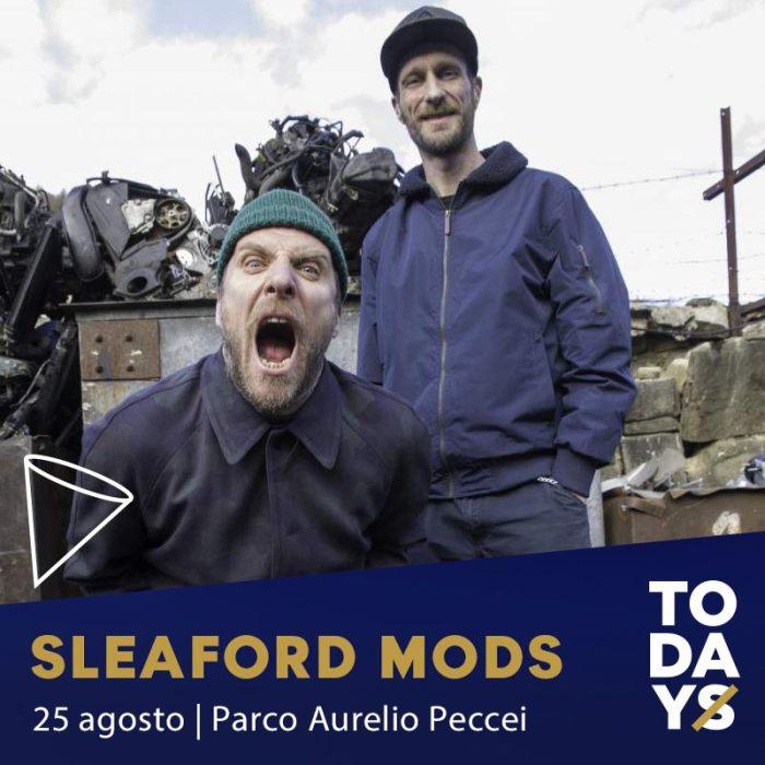 Sleaford Mods in concerto gratuito il 25 agosto al Parco Peccei di Torino per TOdays