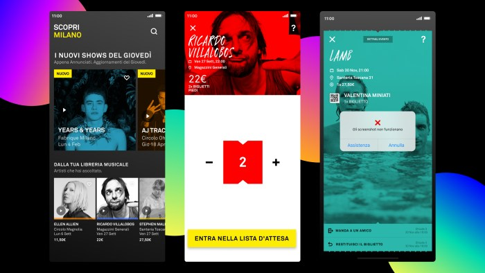 DICE nuovo portale di ticketing e music discovery