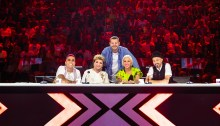 Giudici X Factor 2019 e Alessandro Cattelan - Foto di Virginia Bettoja