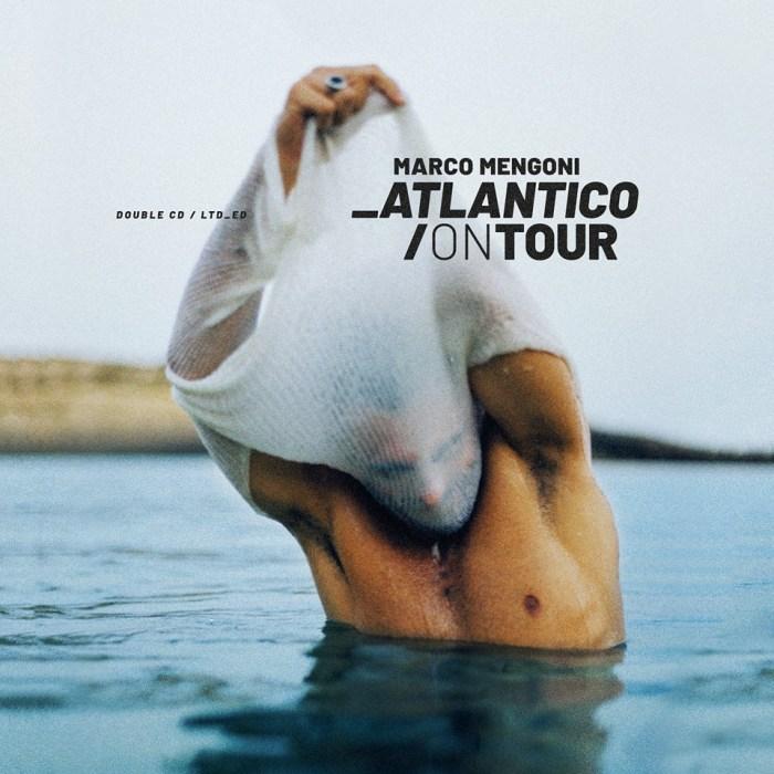 """copertina nuovo doppio CD live """"Atlantico On Tour"""" di Marco Mengoni"""