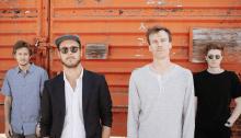 La band rock alternative Current Swell in concerto il 20 febbraio a Milano
