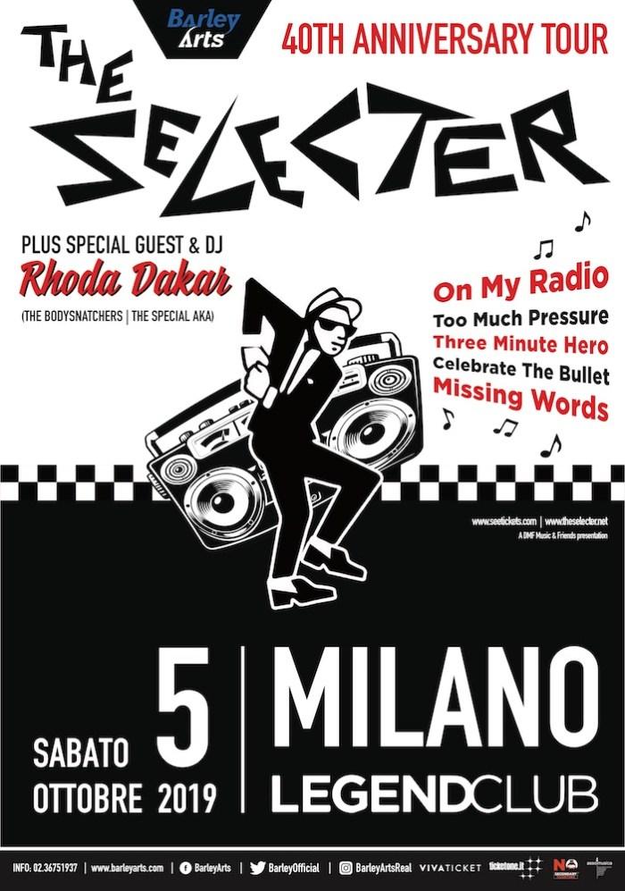 Vinci 1 biglietto per il concerto dei The Selecter il 5 ottobre a Milano
