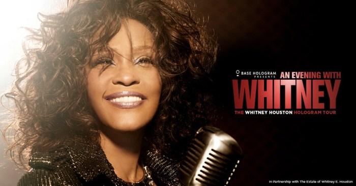 Whitney Houston, dal 27 febbraio tour con ologramma