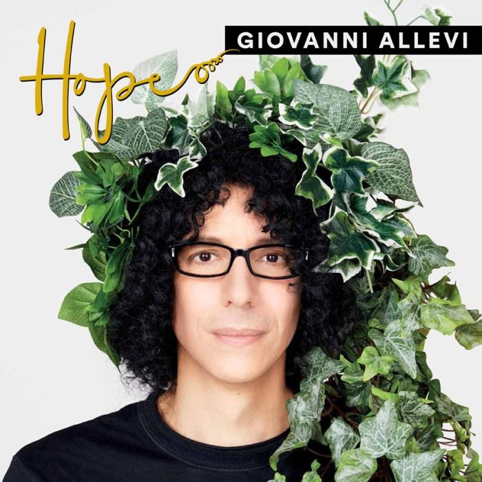 """Giovanni Allevi copertina nuovo album """"Hope"""""""