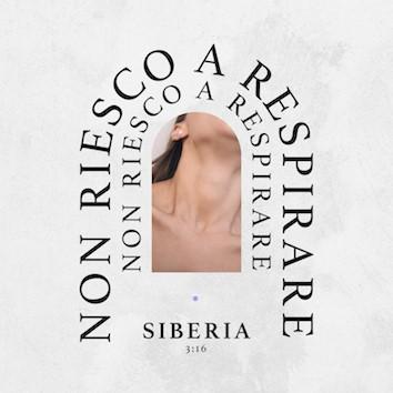 "copertina singolo Siberia ""Non riesco a respirare"""