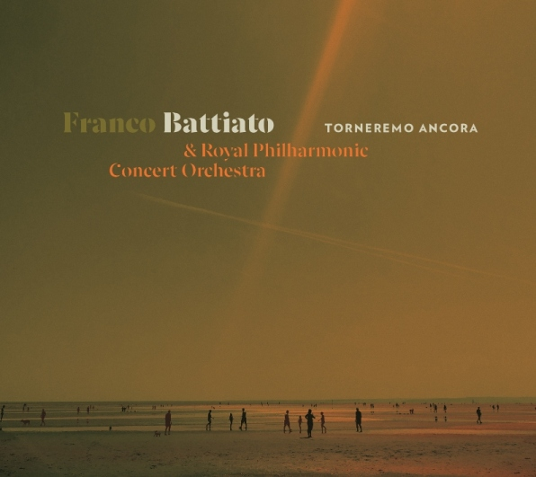 """Franco Battiato copertina album """"Torneremo Ancora"""""""