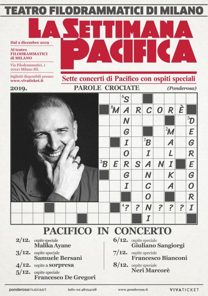 La Settimana Pacifica, 7 concerti di Pacifico a Milano con ospiti speciali