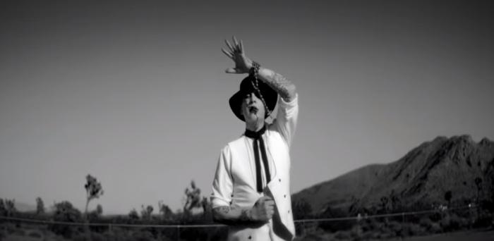 "Marilyn Manson il nuovo video di ""God's Gonna Cut You Down"""