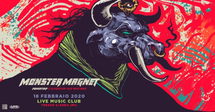 Monster Magnet in concerto il 18 febbraio al Live Music Club di Trezzo sull'Adda