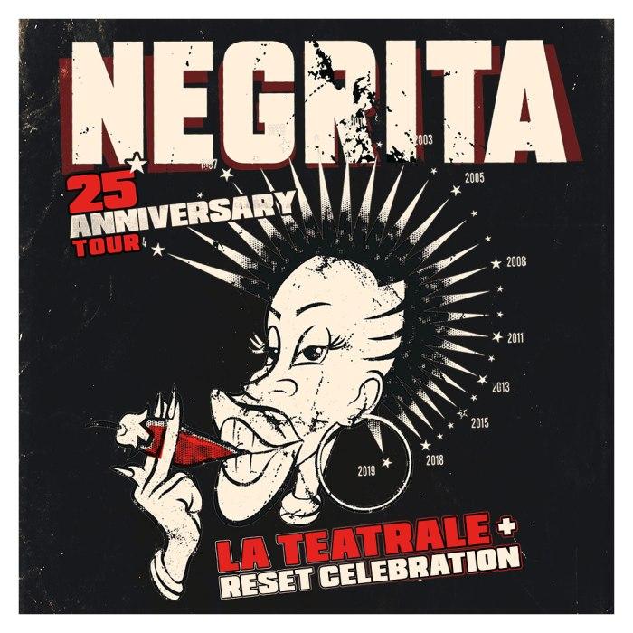 "I Negrita tornano in tour nel 2020 per celebrare ""Reset"""