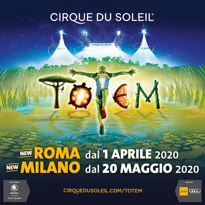 "Cirque Du Soleil ""Totem"" nuove date a Roma e Milano 2020"