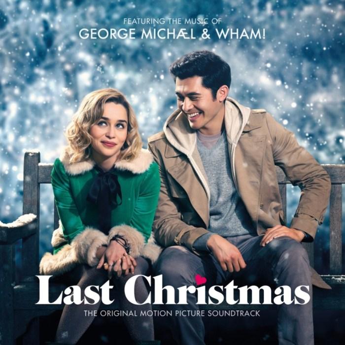 """copertina colonna sonora film """"Last Christmas"""""""