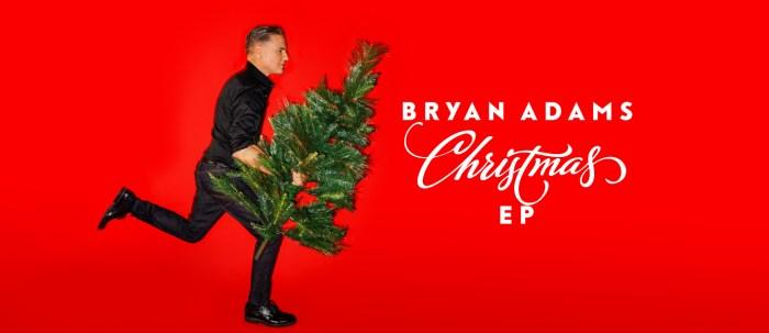 """Bryan Adams nuovo EP """"Christmas"""""""