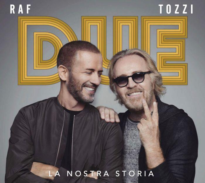 "Raf e Tozzi nell'album live ""Due, La Nostra Storia"""