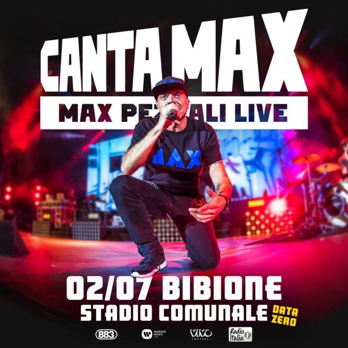 Max Pezzali data zero 2 luglio Bibione