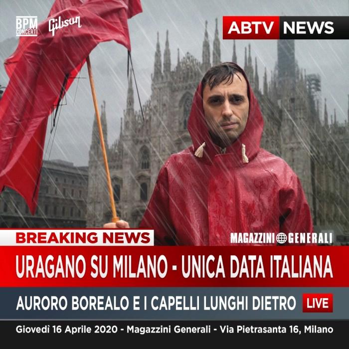 Auroro Borealo in concerto il 16 aprile ai Magazzini Generali di Milano