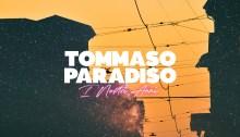 """Tommaso Paradiso """"I Nostri Anni"""" copertina album"""