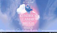 Kendrick Lamar al BTS Summer Time Hyde Park Londra