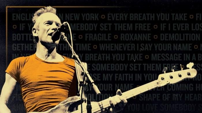 """Sting """"My Songs"""" 23 luglio a Parco La Cittadella di Parma"""