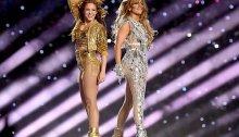 Shakira e Jennifer Lopez al Super Bowl 2020