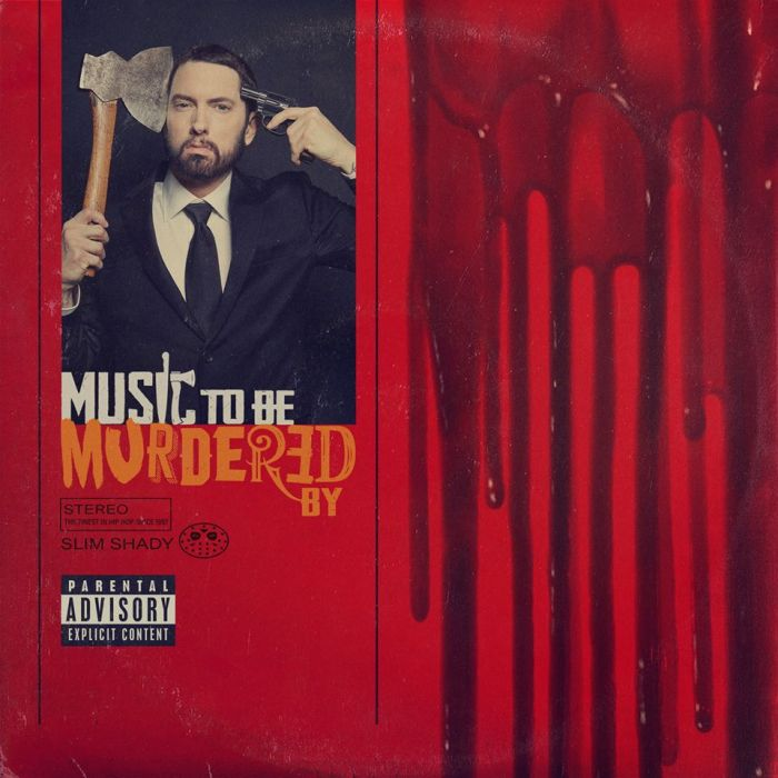 "Eminem copertina ""Music To Be Murdered By"""