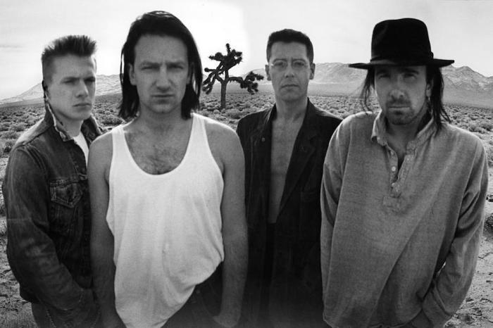 """U2 """"The joshua Tree tour"""" 1987"""