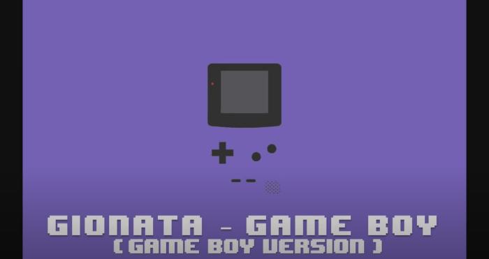"""Game Boy"" video Gionata"