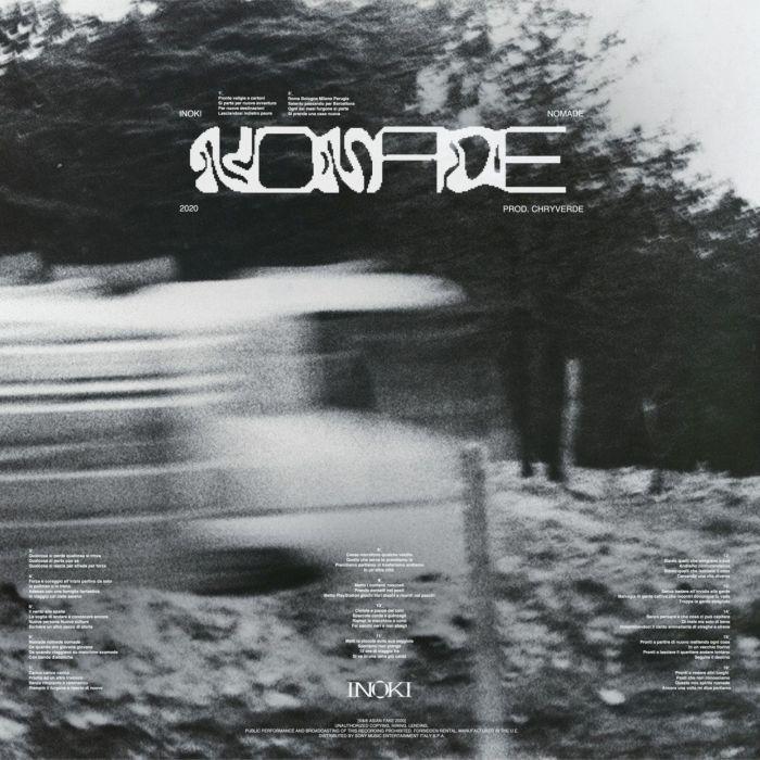 """Inoki copertina """"Nomade"""""""