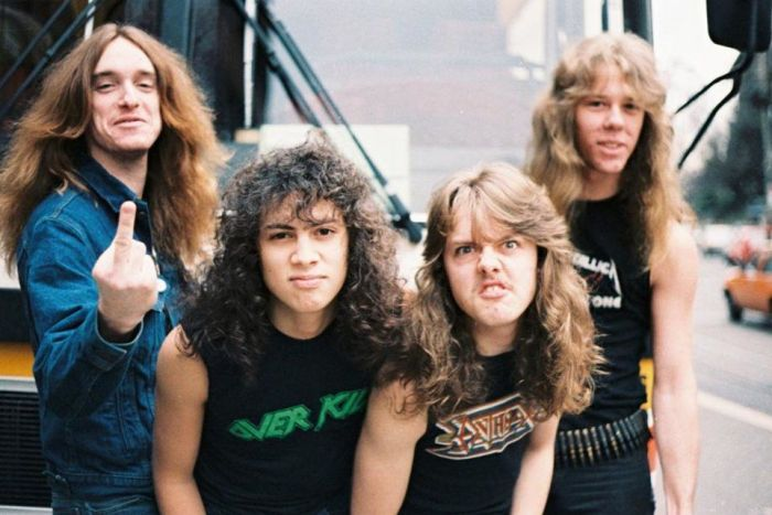 "Metallica 1984 ""Ride The Lightning"""