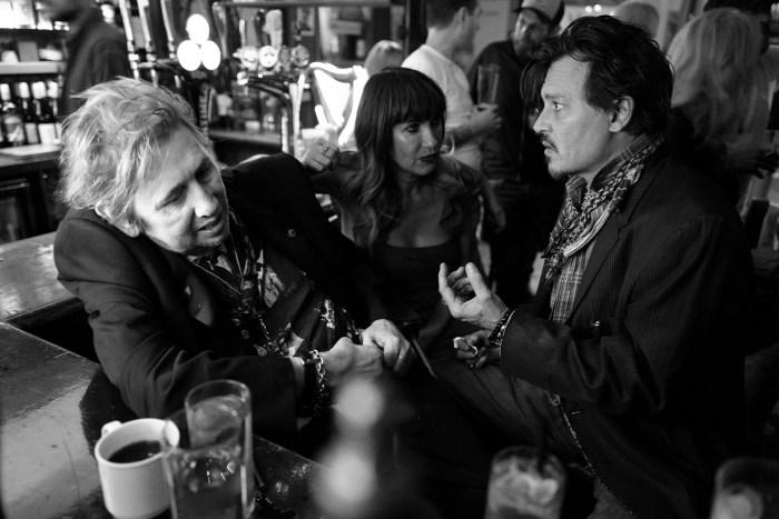 Shane McGowan, Victoria McGowan eJohnny Depp - Foto di GregWilliams