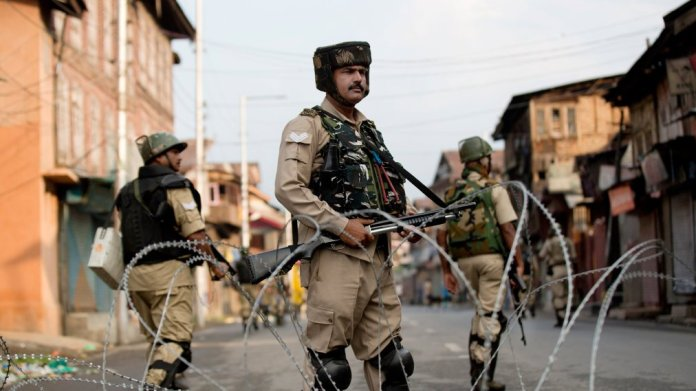 what is happening in Kashmir