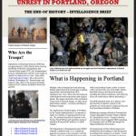 federal troops in portland