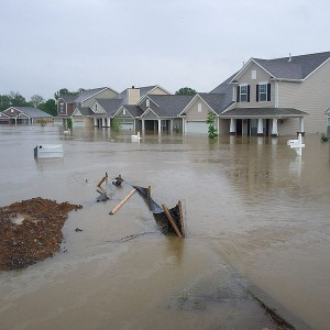 Flooding in the United States - Nashville, Tennessee - Photo by Eric Hamiter