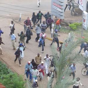 2013 Westgate shopping mall terrorist incident in Nairobi, Kenya - Photo by Anne Knight