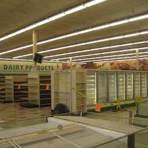 Empty Supermarket - Photo by Infrogmation