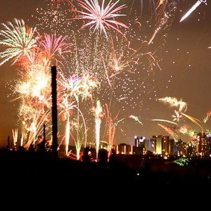 Independence Day Fireworks - Photo by Andre Engels