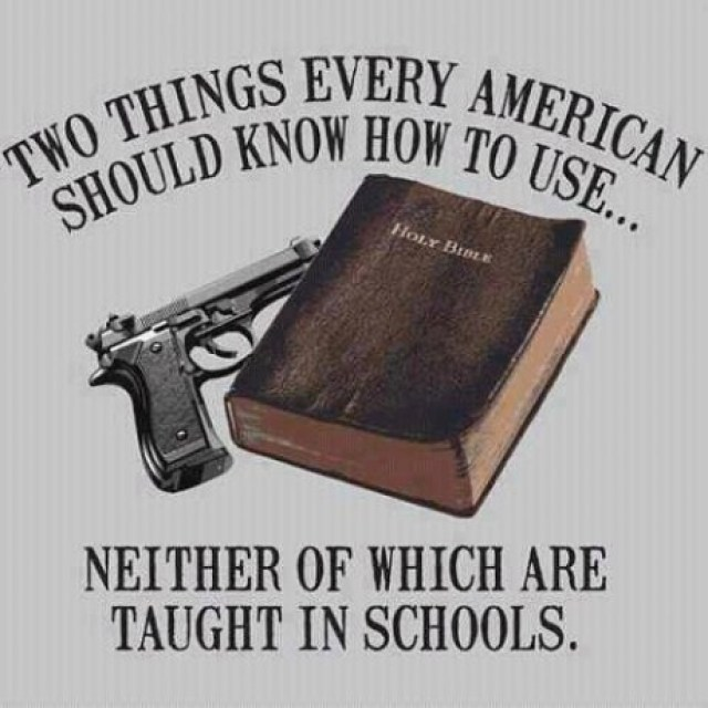 Guns And Bible