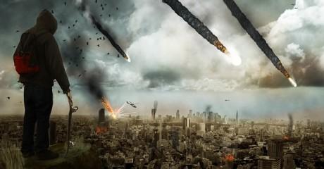 Meteors Apocalypse - Public Domain