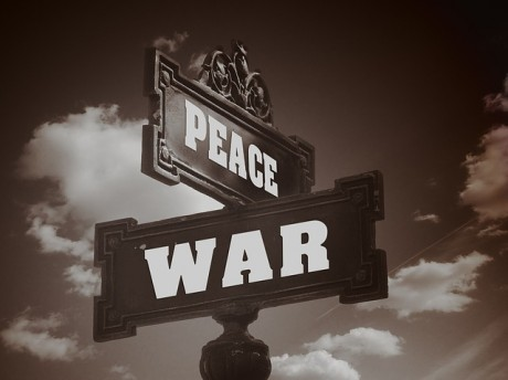 War Peace Sign - Public Domain