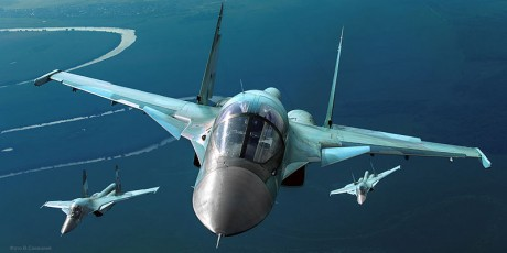 Russian Air Force Sukhoi Su-34 - Photo from Mil.ru