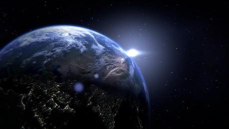 Planet Earth Globe Ominous - Public Domain
