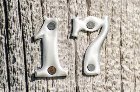 17 Sign - Public Domain