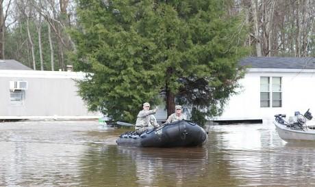 Louisiana Flood - Public Domain