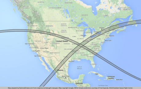 Solar Eclipse In 2017 And Another 7 Years Later In 2024 Will Mark A Giant X Across The United States