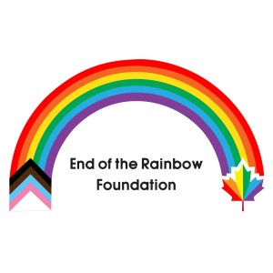 End of the rainbow foundation square