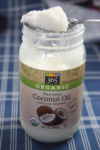 coconut oil photo
