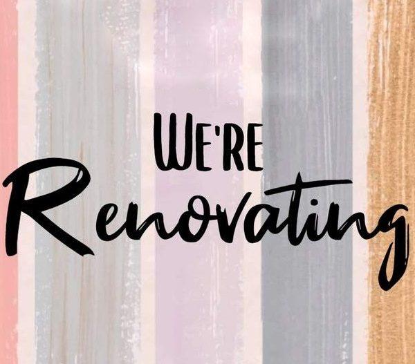 renovating sign