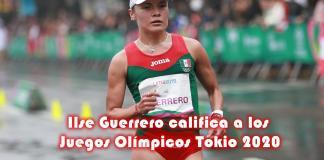 Ilse Guerrero califica a los Juegos Olímpicos Tokio 2020