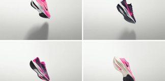 Nike Zoom en rosa neón