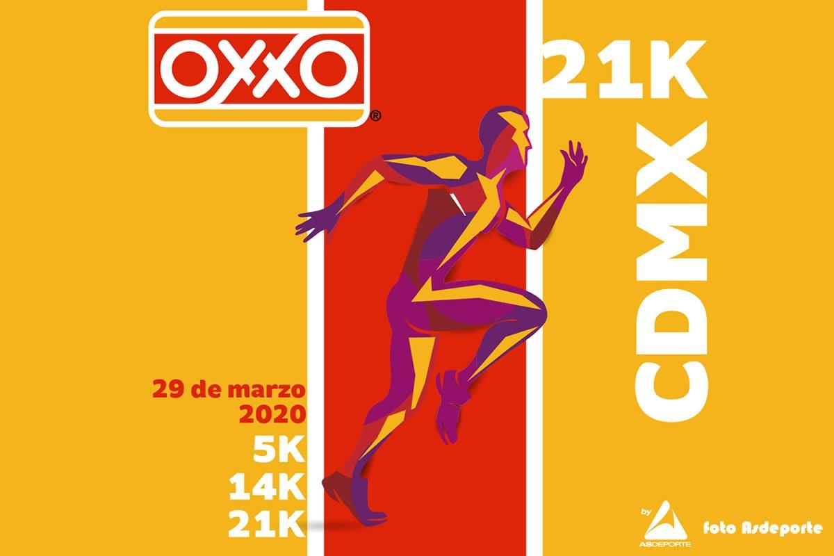 Medio Maratón Oxxo CDMX 2020